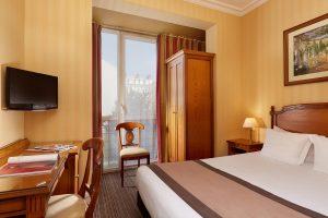 Chambre Double Standard |Hotel Montparnasse Daguerre | Hotel 3* Paris