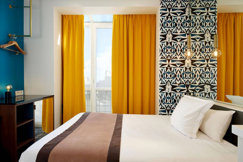 Chambre single Hôtel Montparnasse Daguerre Paris
